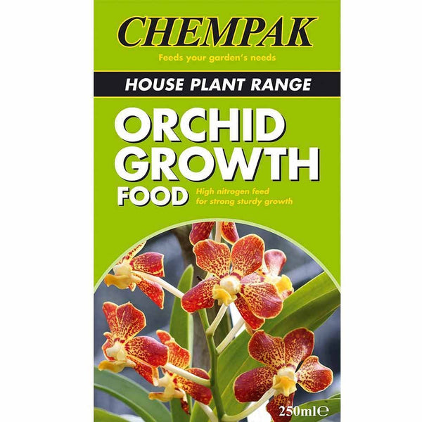 Chempak Orchid Growth Food 250ml - Gardening Requisites