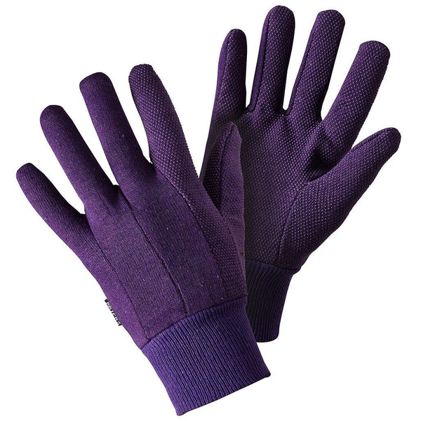 Briers Jersey Mini Grip Lavender Glove size medium - Gardening Requisites