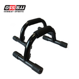 OSS - Metal Fitness Push Up Bars Stands Slip-Resistant Comfort Foam Grip Home Gym