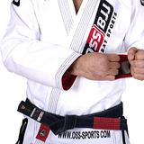 OSS Combat Sports BJJ Belt |  Brazilian Jiu Jitsu Belt  |  IBJJF Approved Durable Design Belts
