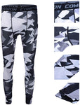 OSS - Compression Pants Tight Running Workout Grappling BJJ MMA Trousers Camouflage