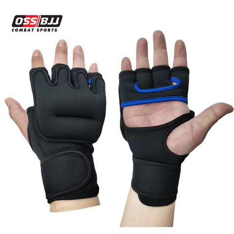 OSS - Weighted Gloves for Cardio & Heavy Hands (Pair) - 1lb x 2 1 Pound Each Glove