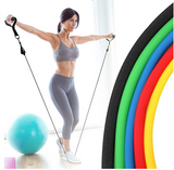 Exercise Resistance Bands Set Fitness Stretch Home Workout Bands 12 Pieces