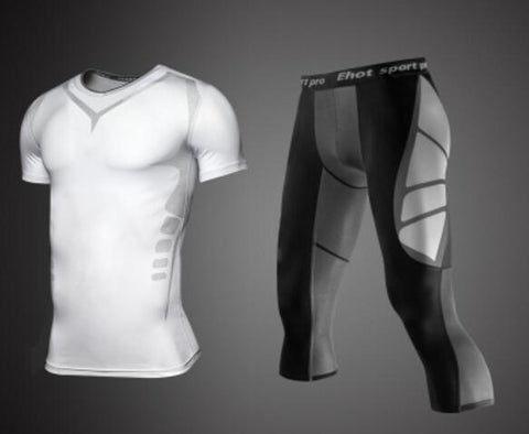 OSS Pro Combat Series Compression Rash Guard Top plus Pants Bundle - OSS Sports