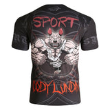 Rash Guard Compression T Shirt Mens Short Sleeve Different Styles SALE - OSS Sports