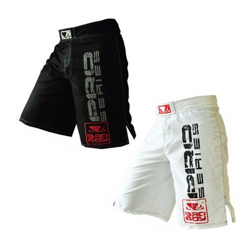 Bad Boy Brand - Muay Thai MMA Fitness Training Boxing Martial Arts Kickboxing Shorts