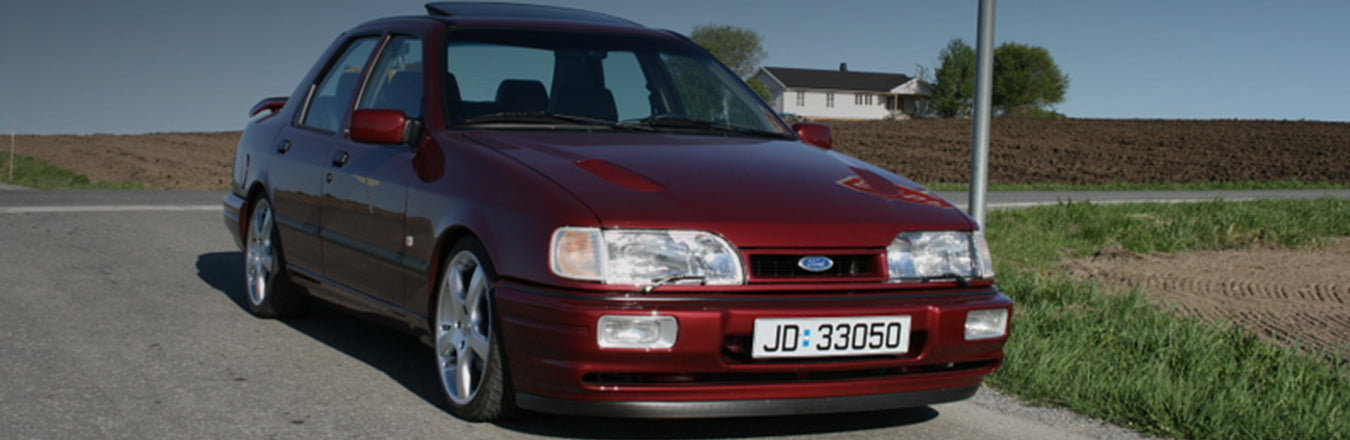 Ford Sierra Cosworth Aftermarket Parts — Car Throttle UK