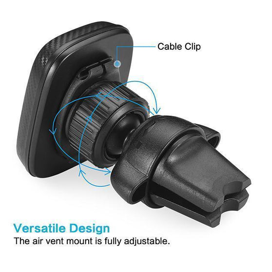 Magnetic Locking Air Vent Phone Mount