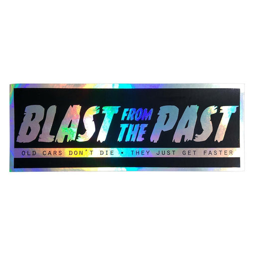 Blast From The Past Oil Slick Slap Sticker
