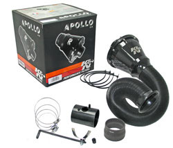 K&N Apollo Closed Air Intake Kit for Honda Civic Type R (FN2)