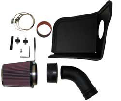 K&N 57i Gen II Performance Air Intake Kit for BMW 3-Series (E46