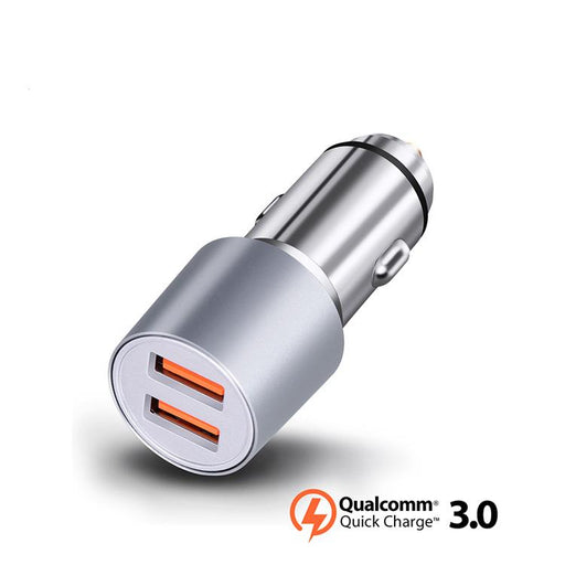 Aluminium Car USB Quick Charger