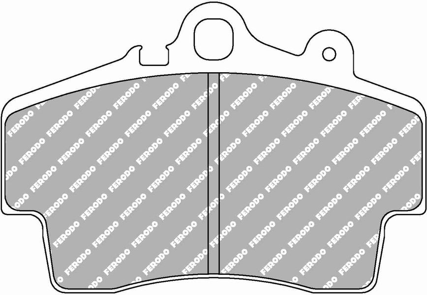 Ferodo DS Performance Front Brake Pads for Porsche Boxster (987)