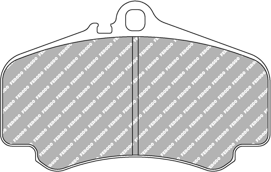 Ferodo DS Performance Front Brake Pads for Porsche 911 Cabriolet (996)