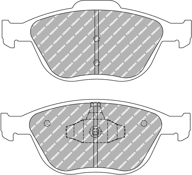 Ferodo DS Performance Front Brake Pads for Ford Fiesta ST (MK6)