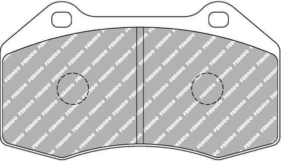Ferodo DS Performance Front Brake Pads for Renault Megane (MK2)