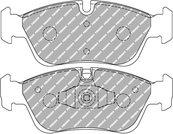 Ferodo DS Performance Front Brake Pads for BMW 1-Series (E87)