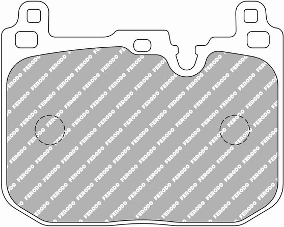 Ferodo DS Performance Front Brake Pads for BMW 3-Series (F31)