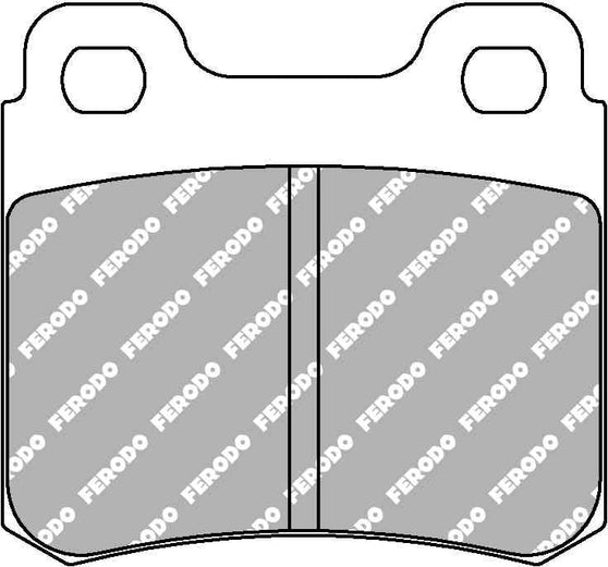 Ferodo DS Performance Rear Brake Pads for Vauxhall Astra Convertible (F)