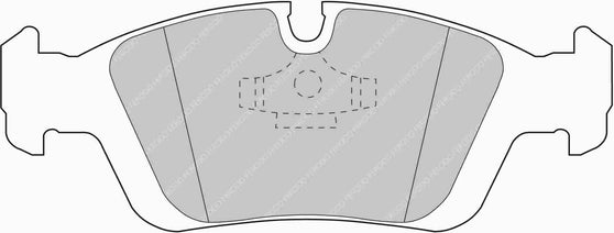 Ferodo DS Performance Front Brake Pads for BMW 3-Series Coupe (E36)