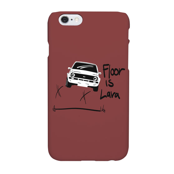 Floor is Lava Phone Case