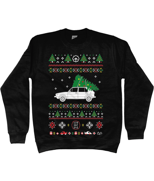 Golf Christmas Jumper