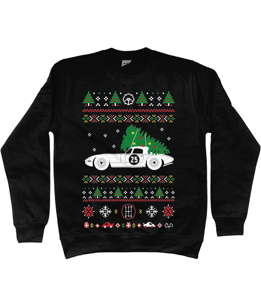 Jaguar E-Type Christmas Jumper