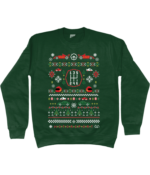 Motorsport Christmas Jumper
