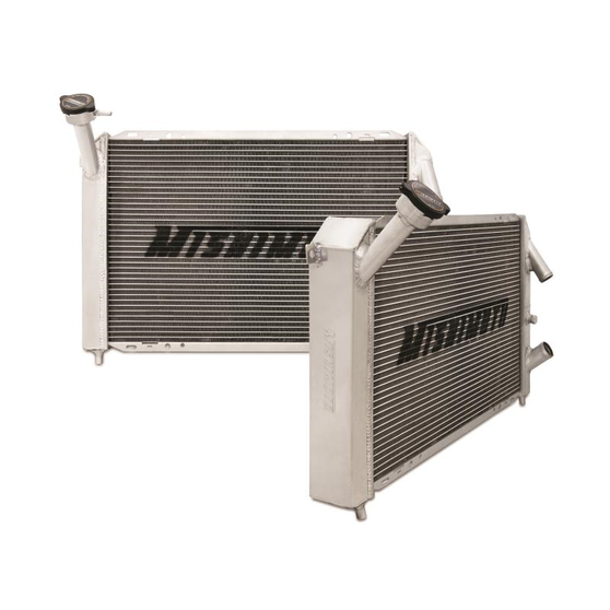 Mishimoto LS-Swapped Performance Aluminum Radiator for Mazda RX7 (FD)