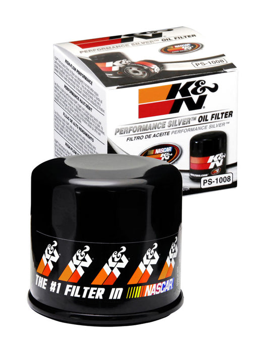K&N Performance Silver Oil Filter for Nissan 370Z