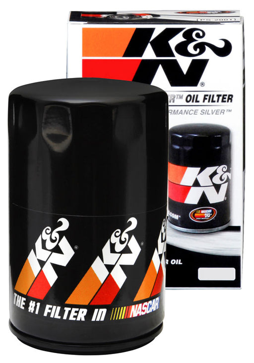 K&N Performance Silver Oil Filter for Audi A3 (8P)