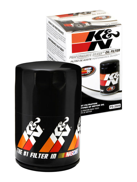 K&N Performance Silver Oil Filter for Ford Fiesta (MK6)