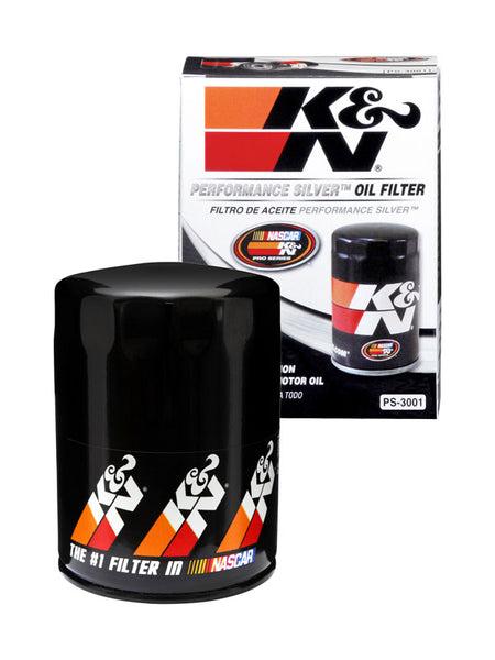 K&N Performance Silver Oil Filter for Audi A4 (B5)
