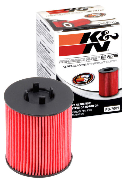 K&N Performance Silver Oil Filter for Vauxhall Corsa (C)