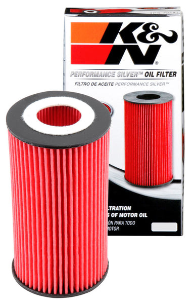 K&N Performance Silver Oil Filter for Mercedes-Benz C-Class (W204)