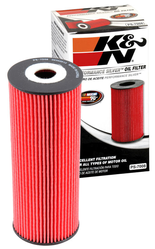 K&N Performance Silver Oil Filter for Mercedes-Benz C-Class (W203)