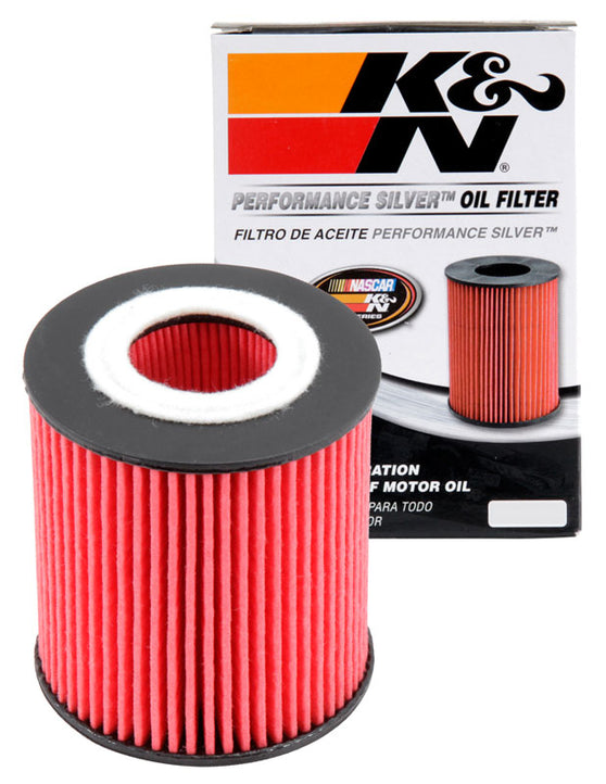 K&N Performance Silver Oil Filter for Mazda 3 (BK)