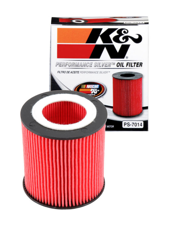 K&N Performance Silver Oil Filter for BMW 1-Series (E87)
