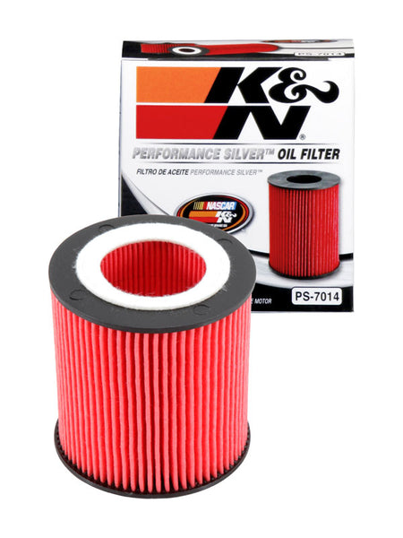 K&N Performance Silver Oil Filter for BMW 1-Series (E81)