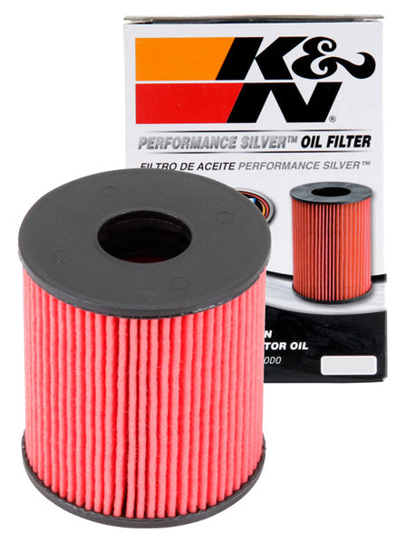 K&N Performance Silver Oil Filter for Mini Hatch (R56)