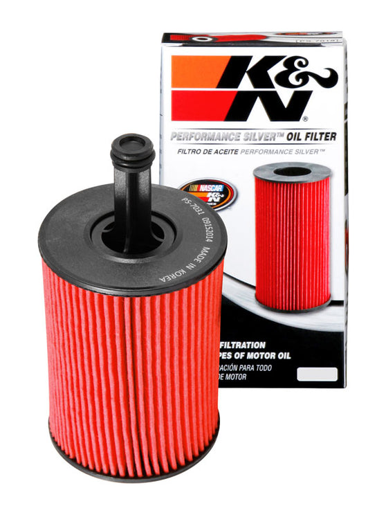 K&N Performance Silver Oil Filter for Audi TT (MK2)