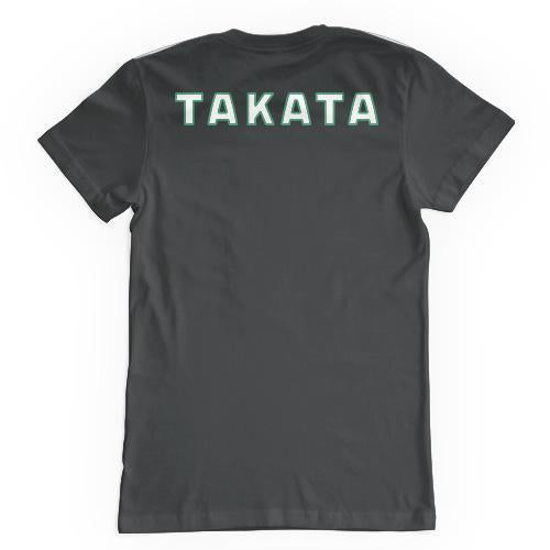 TAKATA 'Go For Green' T-Shirt (Grey)