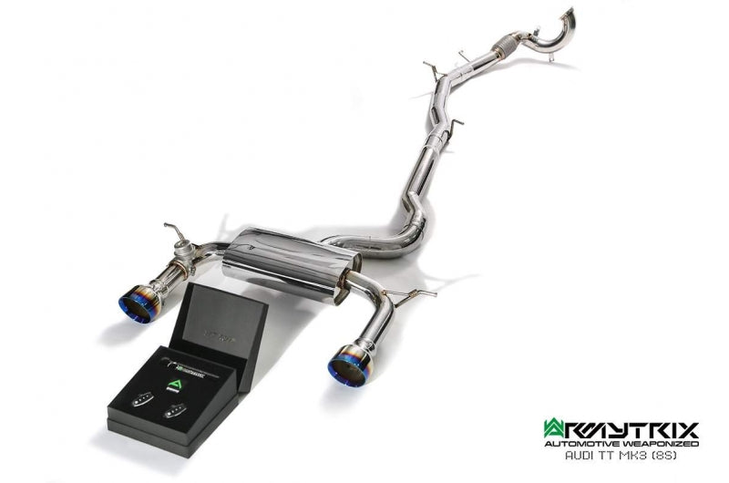 Armytrix Valvetronic Exhaust System for Audi TT (MK3)