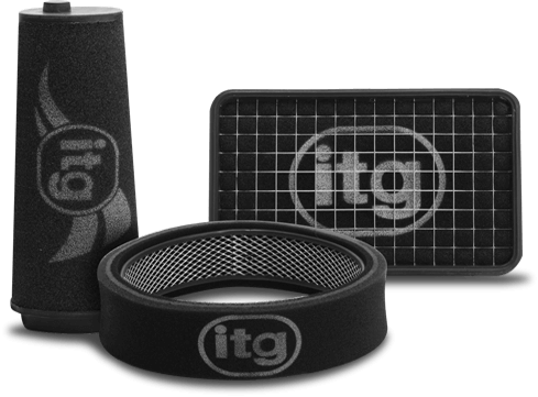 ITG Profilter Air Filter for Fiat 500