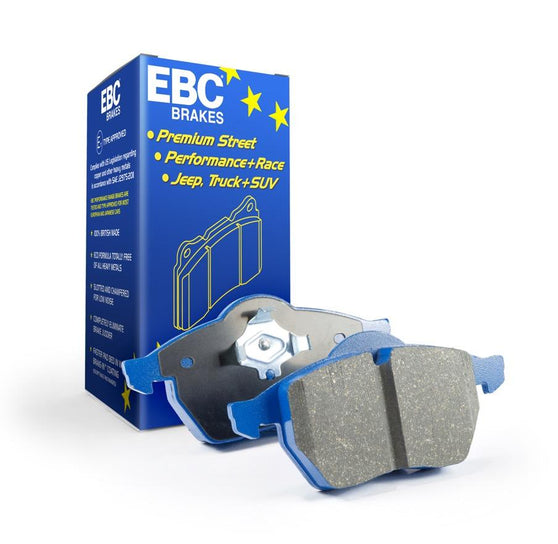 EBC Bluestuff Rear Brake Pads  for Volkswagen Polo (6R)