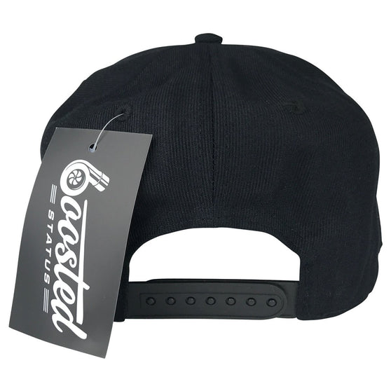 Boosted Status Snapback Hat - All Black