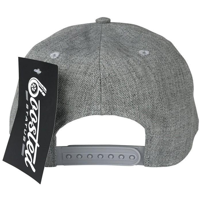 Boosted Status Snapback Hat - Gray/Black