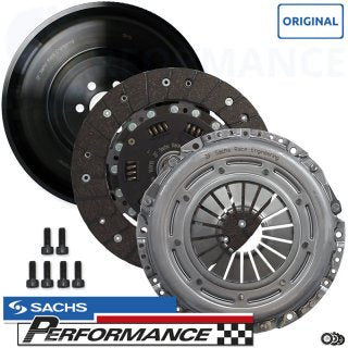 Sachs Performance Motorsport Clutch Kit + Single-Mass Flywheel for Audi TTS (MK2)