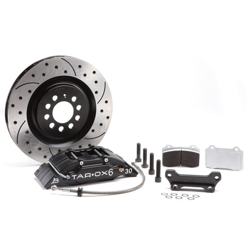 TAROX Front Sport Compact Brake Kit for Ford Fiesta (MK6)