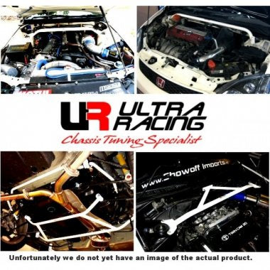 Ultra Racing Mid Lower Brace for Mini Hatch (R53)